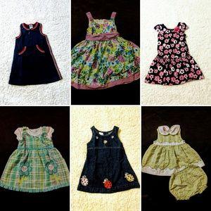 Girls 24 months Summer Dress Bundle